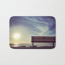 Sunset on Coronado Beach, California Bath Mat