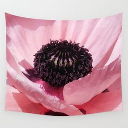 Poppy detail Wall Tapestry
