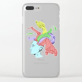 A Creative Mind Clear iPhone Case