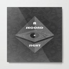 Second Sight Metal Print