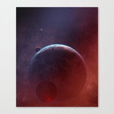 Cosmic Multiplicity Canvas Print
