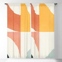 Attached Abstraction 02 Blackout Curtain