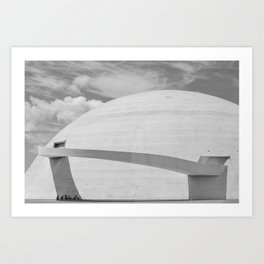 Niemeyer | architect | National Museum Art Print