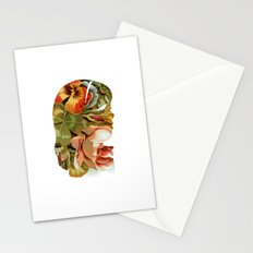 Floral Silhouette II Stationery Cards