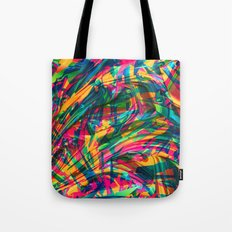 Wild Abstract Tote Bag