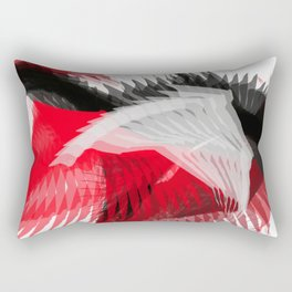 flying abstract digital painting Rectangular Pillow