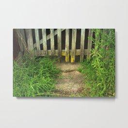 Ally Fence Metal Print