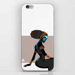 Spined iPhone Skin