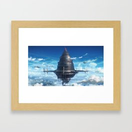 sword art online place Framed Art Print