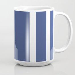 Striped Ombre in Blue Coffee Mug