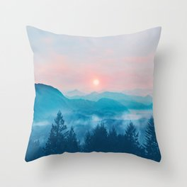 Pastel vibes 12 Throw Pillow