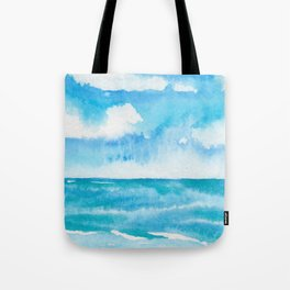 Dancing Turquoise Sky Tote Bag