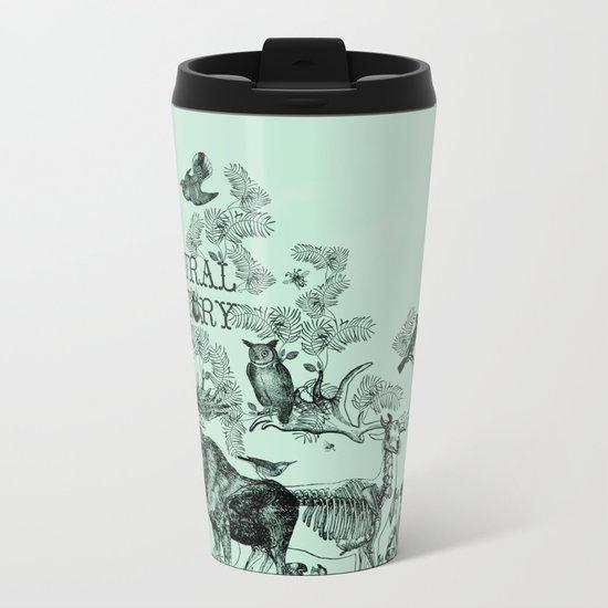 Natural History Metal Travel Mug