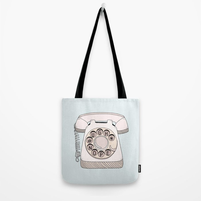 Phone Call Tote Bag