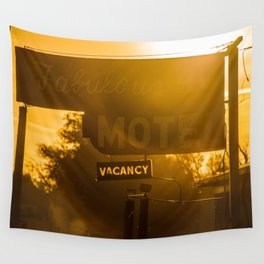 Fabulous Motel Wall Tapestry