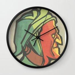 Dante Alighieri Wall Clock