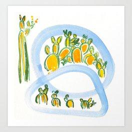 Plant Squad Art Print