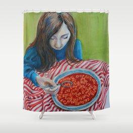 Soup Shower Curtain