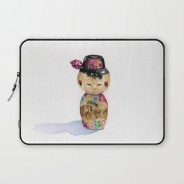 Kokeshi Doll Laptop Sleeve