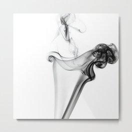 Billow - Fine Art Smoke Photography Metal Print