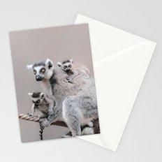LEMURS by Monika Strigel Stationery Cards