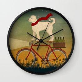 Doodle Bike Wall Clock