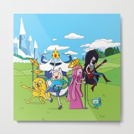 Adventure Band Metal Print