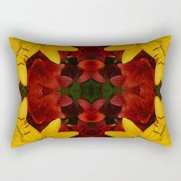 """A Gathering of Lilies"" Remix - 2 (2-1) [D4466~24] Rectangular Pillow"