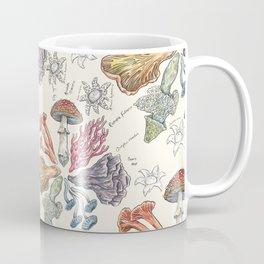 Mushroom Color Wheel Coffee Mug