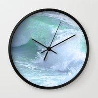 splash Wall Clocks featuring SPLASH by Teresa Chipperfield Studios