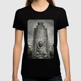 Vancouver Raincity Series - Lion at the Gate - Black and White T-shirt
