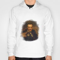 replaceface Hoodies featuring Christopher Walken - replaceface by replaceface