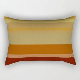 Desert Stripes Rectangular Pillow