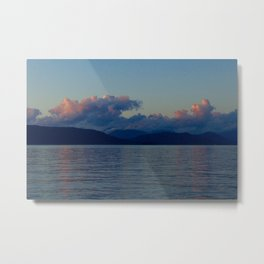 These Clouds Breathe for You Metal Print