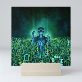 Virtual Dawn Mini Art Print
