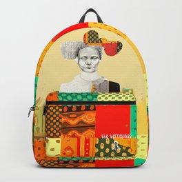 Le patchwork femme Backpack