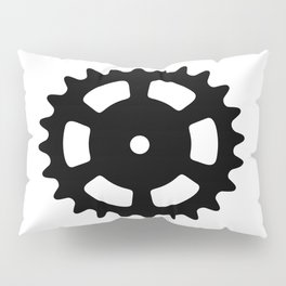 Cog and Roll Pillow Sham