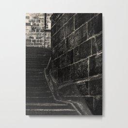 NOIR CITY / Alley Metal Print
