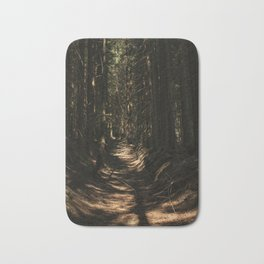lost in the woods Bath Mat