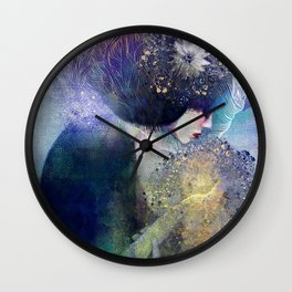Song for Cedars Wall Clock