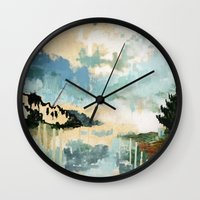 building Wall Clocks featuring Building by dorilovesnico