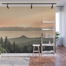 Lake View Wall Mural