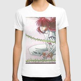 Kurama in space T-shirt