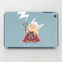 thor iPad Cases featuring Thor by Rod Perich