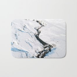 River in winter in Iceland - Landscape Photography Bath Mat