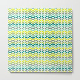 Geometry Seamless Pattern Metal Print