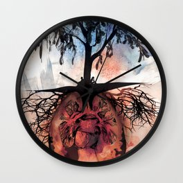 The Composer and the Composed: Give and Take Wall Clock