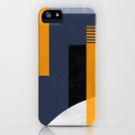 Abstract Geometric Space 1 iPhone Case