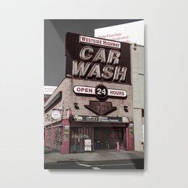 Intrepid Car Wash Metal Print