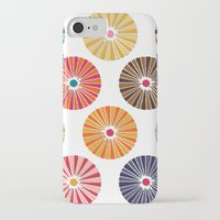 carousel iPhone & iPod Cases featuring carousel by Sharon Turner
